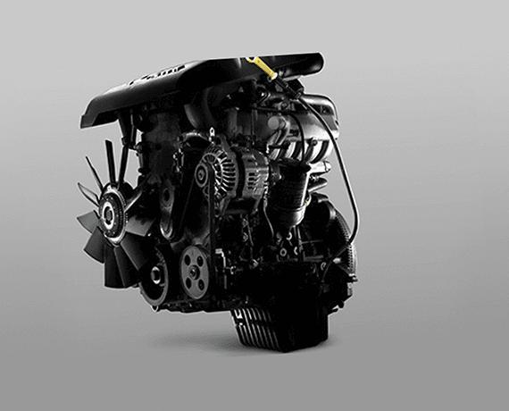 Motor turbo diésel