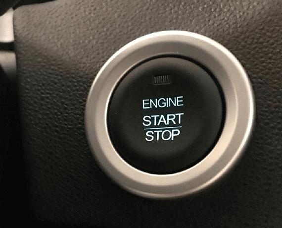 Botón de encendido y llave inteligente